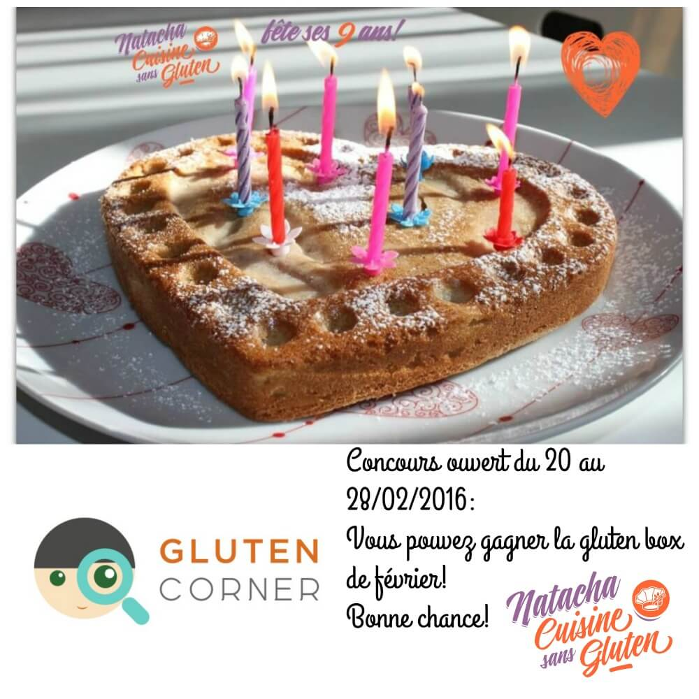 Blog anniversaire Gluten Corner