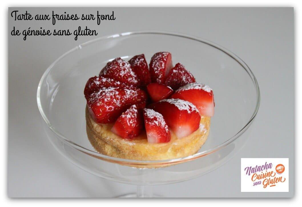 Tarte-fraises-fond-génoise-sans-gluten