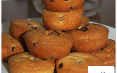 Muffins aux pépites de chocolat sans gluten (mix fun cakes)