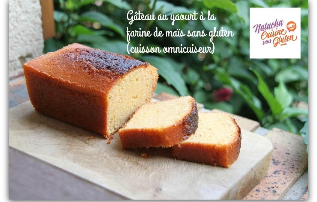 Gâteau au yaourt sans gluten (farine de maïs)