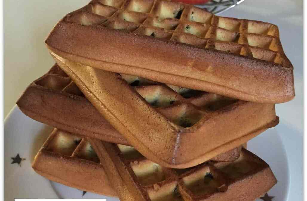 Gaufres sans gluten pépites de chocolat