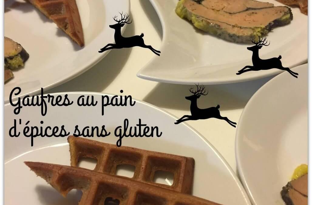 Gaufres au pain d'épices sans gluten