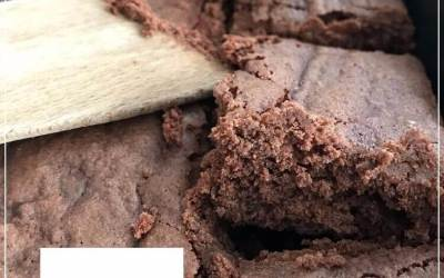 Brownie sans gluten et sans noix