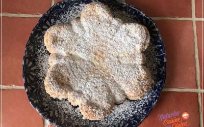 Gâteau léger aux blancs d'oeufs sans gluten