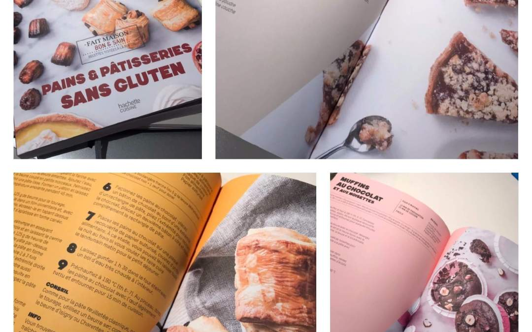 J'ai lu Pains et Patisseries sans gluten de Solène Goumy (Ed Hachette Cuisine)