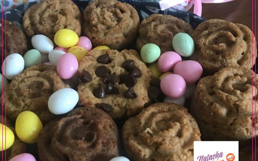 Petits biscuits coco chocolat sans gluten