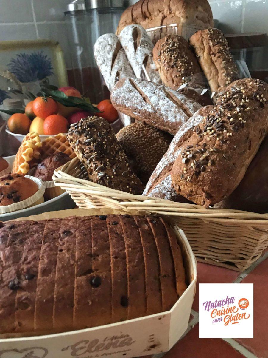 J'ai testé les pains sans gluten de l'atelier d'Elena (concours)
