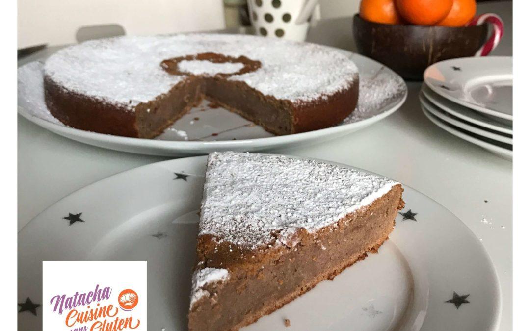 Gâteau à la crème de marrons sans gluten