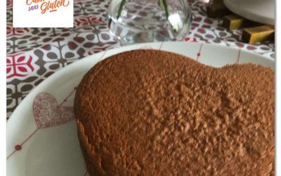 Gateau léger aux pépites de chocolat sans gluten