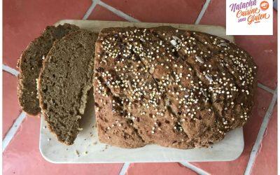 Pain cocotte farine de teff sans gluten