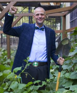 """Stephen Ritz, educator, innovator, urban farmers and author of """"The Power of a Plant"""""""