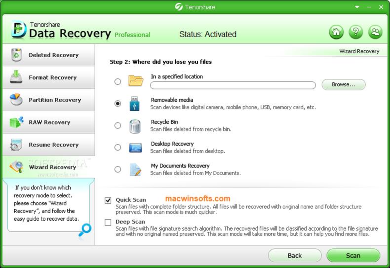 tenorshare any data recovery cracked