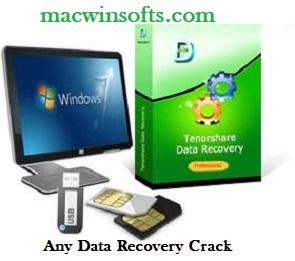 Tenorshare Any Data Recovery Crack 2022