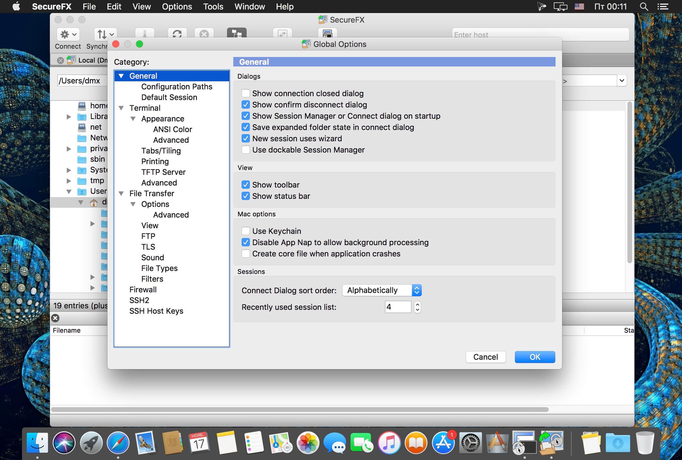 SecureCRT and SecureFX 8.5.4 скачать | macOS