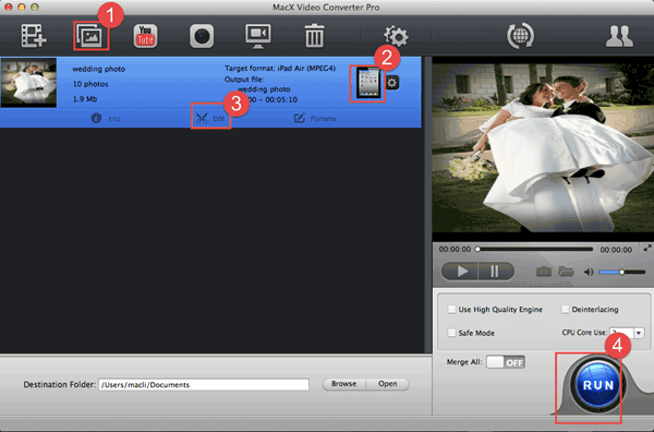 How To Make A Wedding Photo Slideshow With Music For