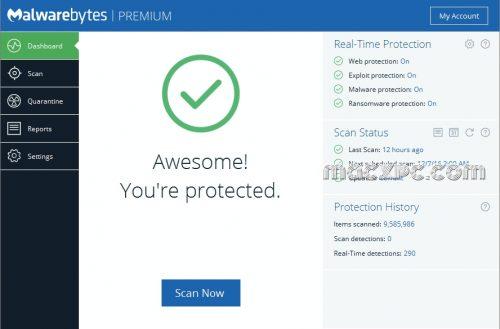Malwarebytes Premium 4.3.0.98 Crack + License Key Full Version