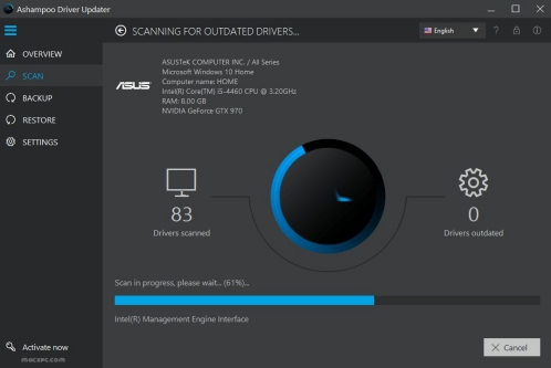 Ashampoo Driver Updater 1.5.0 Crack & Keygen 2020 Download