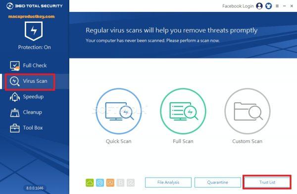 360 Total Security Essential 8.8.0 Build 1114 Crack + License Key Here!