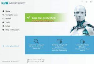 ESET Internet Security Crack v14.2.19.0 + Premium Key 2021 (32/64-bit)
