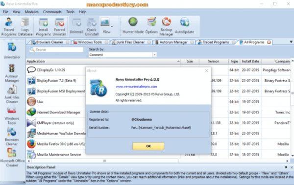 Revo Uninstaller Pro 4.1.5 Crack + Activation Key 2020 Free [Torrent]
