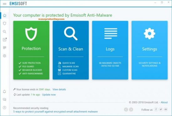 Emsisoft Anti-Malware 2020.9.0.10390 Crack + Activation Code [Mac+Win]