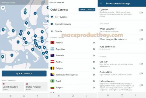 NordVPN 6.35.9.0 Crack With Product Key Full Version Free Download