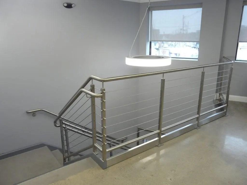 Custom Handrails Macy Industries New England Fabrication   Exterior Handrails Near Me   Wire   Iron   Screen   Diy   Post