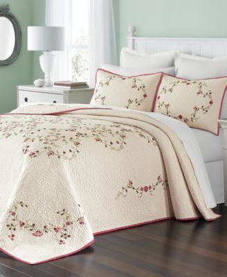 Martha Stewart Collection Westminster Vines Bedspread Only At Macys Quilts Amp Bedspreads