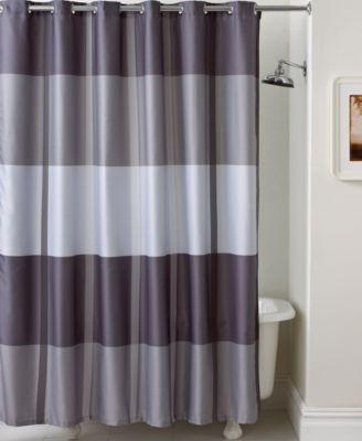Martha Stewart Collection Encore Stripe Shower Curtain