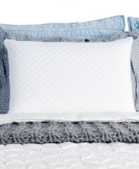 CLOSEOUT! Sealy Memory Foam Bed Pillow - Pillows - Bed ...