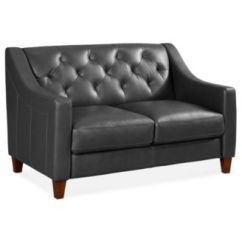 Martino Leather Chaise Sectional Sofa 2 Piece Apartment And Blue Sleeper Couches & Sofas - Macy's