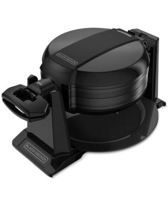 Black  Decker WMD200B Double Flip Belgian Waffle Maker