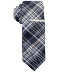 Alfani RED Hamilton Plaid Skinny Tie, Only at Macy's ...