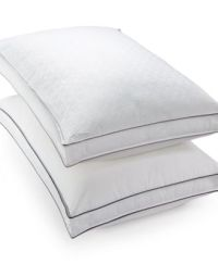 Hotel Collection Luxe Down-Alternative Firm-Density Gusset ...