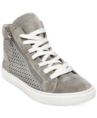 Steve Madden Womens Elyka LaceUp HighTop Sneakers