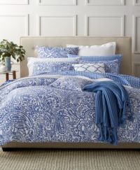 Charter Club Damask Designs Paisley Denim Full/Queen ...