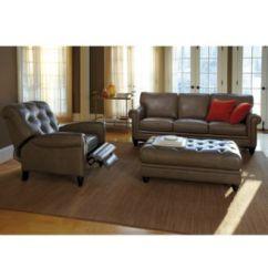 Macys Sofa Pillows Burbank Scs Martha Stewart Bradyn Leather Living Room Furniture ...