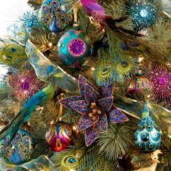 Calphalon Kitchen Essentials Servers Holiday Lane Regal Peacock Tree Theme - For ...