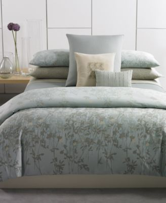 CLOSEOUT Calvin Klein Marin Comforter and Duvet Cover