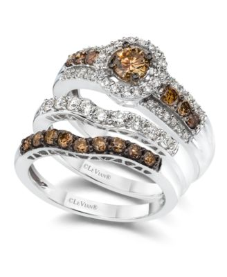 Le Vian Diamond Stackable Rings in 14k White Gold  Rings