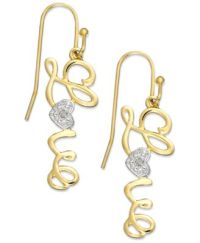 Victoria Townsend 18k Gold over Sterling Silver Earrings ...