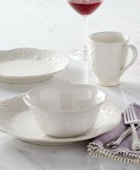 Lenox Dinnerware, French Perle White Collection ...