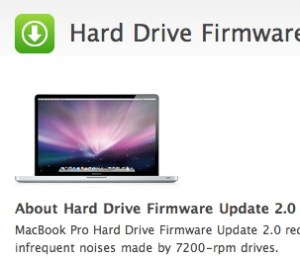 Harddrivefirmware