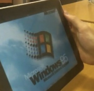 WindowsoniPad