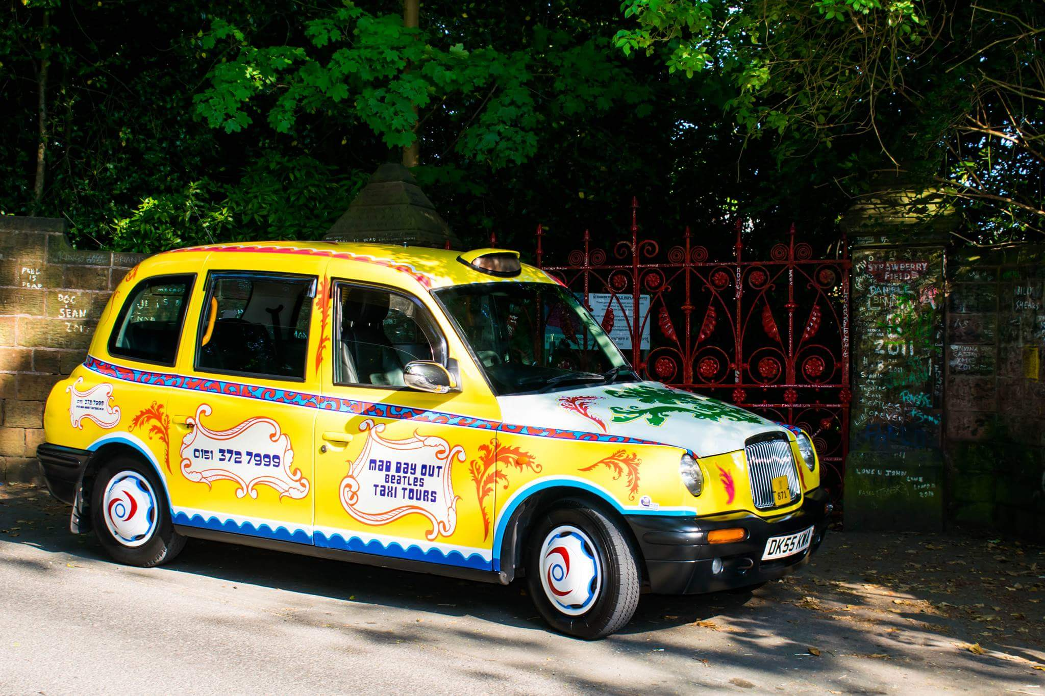 Beatles Taxi Tours Of Liverpool