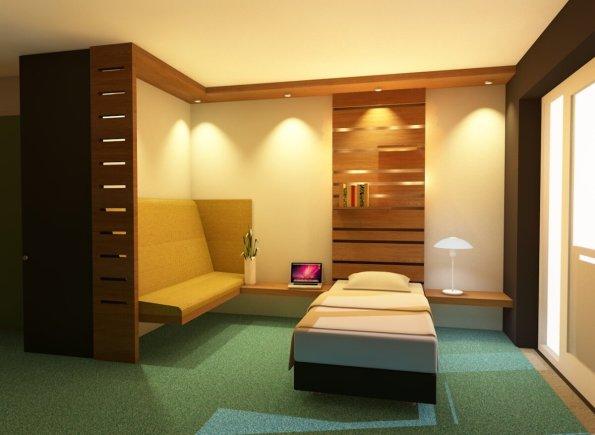 V2-close-up bed-area