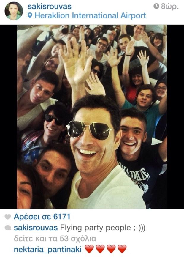 sakis rouvas instagram