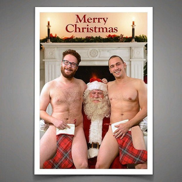 Even-though-supposed-Christmas-card-leaked-James-suggested