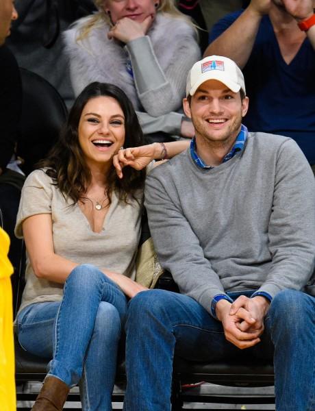Mila-Kunis-Ashton-Kutcher-Lakers-Game-Dec-201445