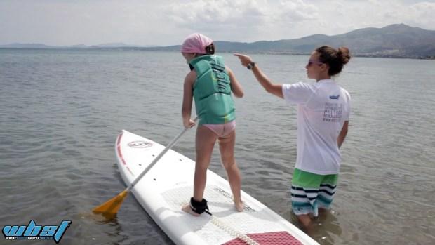 4th kitesurf festival sup lesson